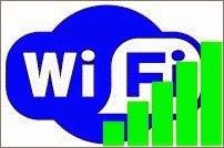 Wi-Fi логотип, уровень сигнала