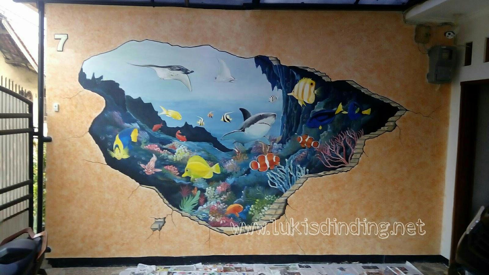 Lukisan Mural  Lukisan Mural 3D  Lukisan Dinding