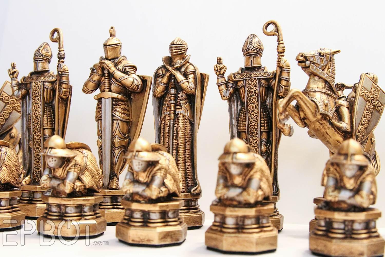 EPBOT: My Harry Potter Wizardsu0027 Chess Set Makeover