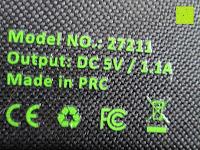 Symbole: Kalibri® Solar Ladegerät für umweltfreundliches Laden von Smartphone, Tablet, iPhone und iPad