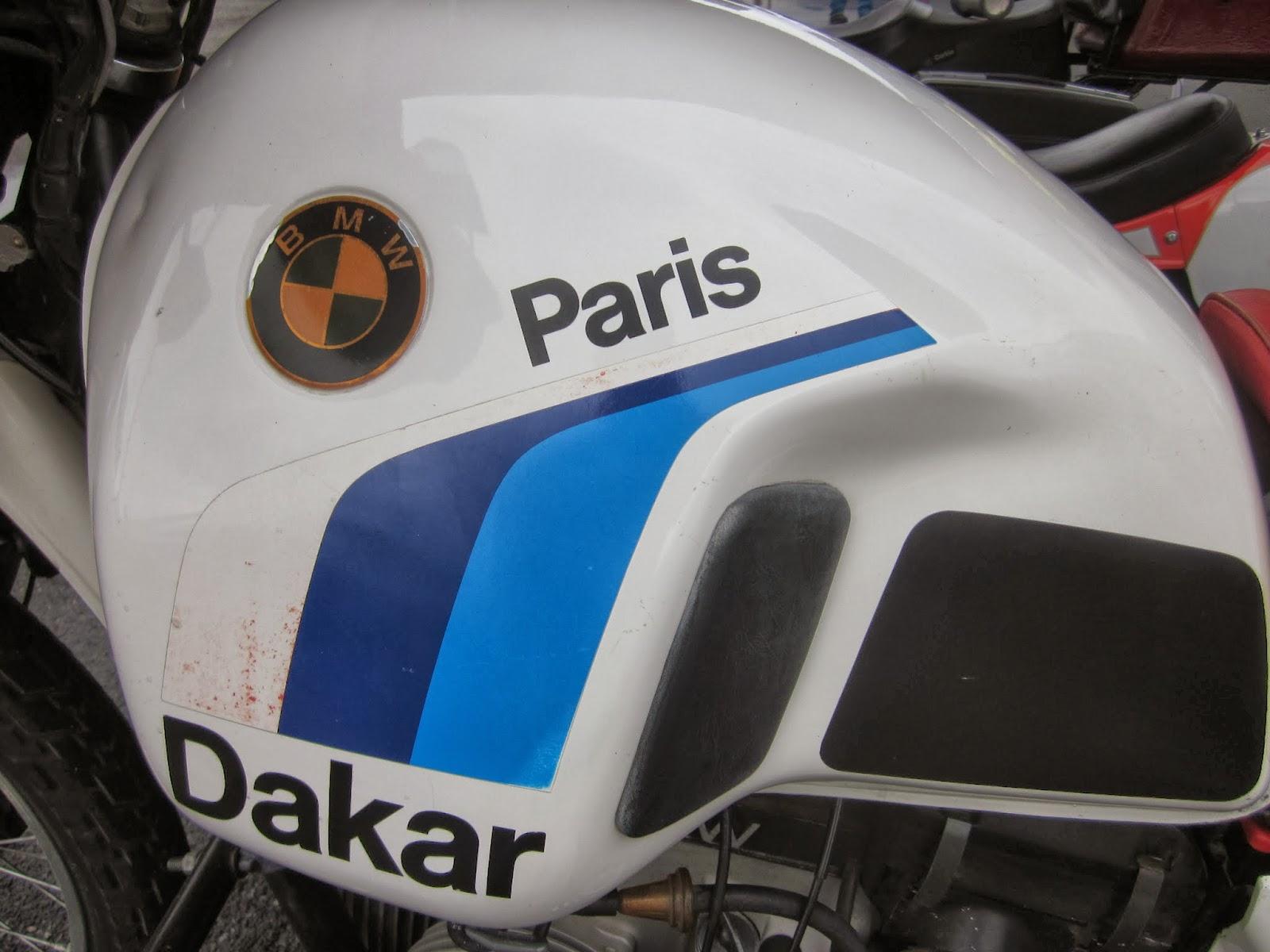 Oldmotodude 1985 Bmw R80gs Paris Dakar On Display At The 2013 Retro