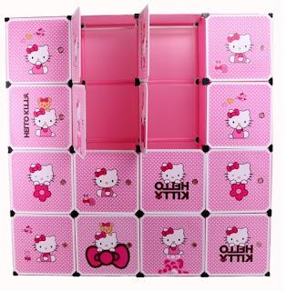 Gambar Lemari Hello Kitty 1