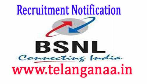 BSNL Recruitment Notification 2017 | 2510 Junior Telecom Officer Vacancies