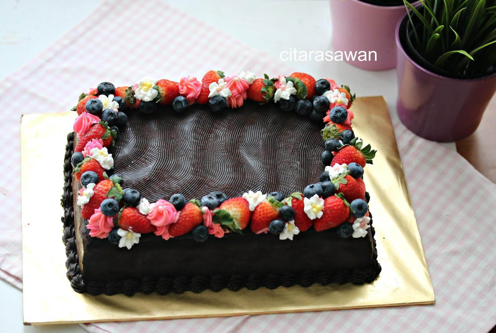 Kek Coklat Lembab / Chocolate Moist Cake - Cik Dah ~ Blog ...