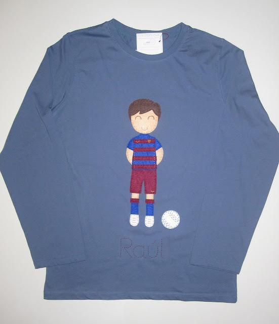 camiseta barsa personalizada
