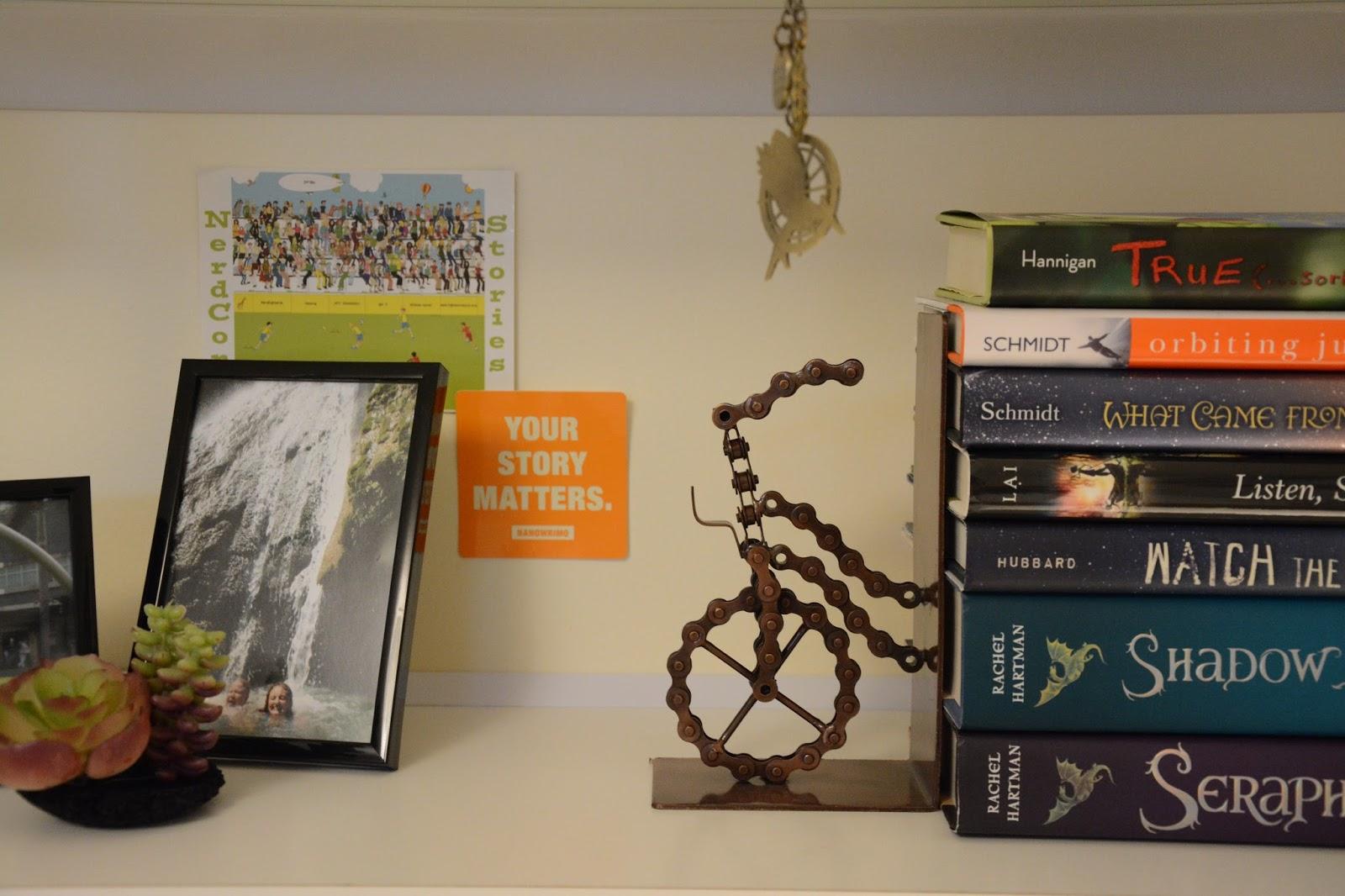 I Am Writer Hear Me Roar: My Bookworm Bedroom