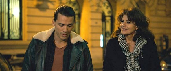 Zino (Tewfik Jallab) et Lola (Fanny Ardant) dans Lola Pater de Nadir Moknèche (2017)