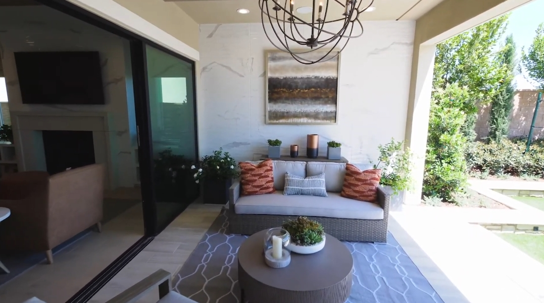 33 Interior Design Photos vs. Toll Brothers Porter Ranch, CA Harwood Model Home Tour