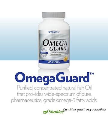 Omega Guard Kesihatan Lelaki & Suburkan Air Mani