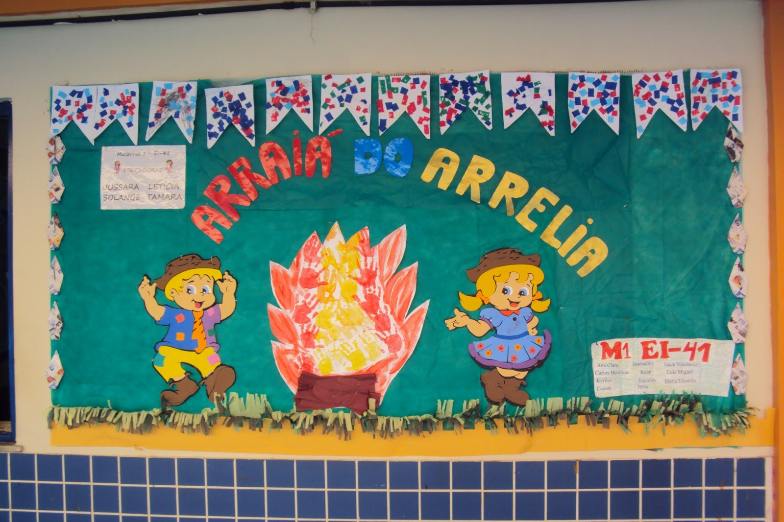 Ideias De Murais Para Festa Junina Só Escola