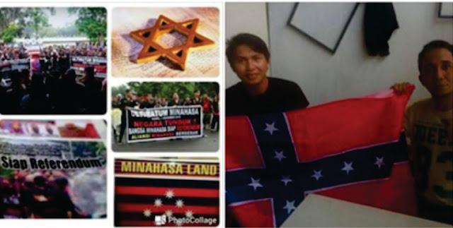 Demi Ahok, Seruan Minahasa Merdeka Makin Ramai, Sudah Punya Bendera
