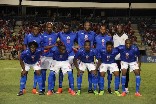 Formación de Haití ante Chile, amistoso disputado el 9 de septiembre de 2014