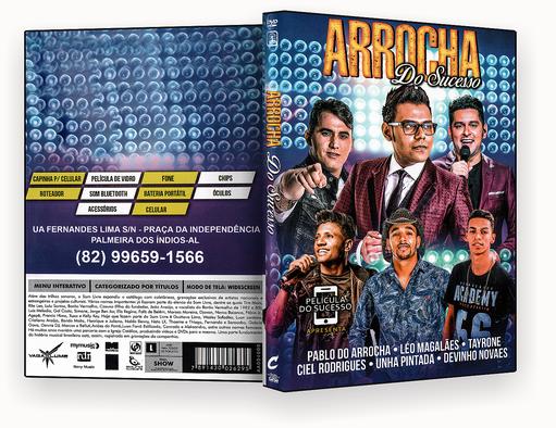 CAPA DVD – Arrocha Do Sucesso – ISO
