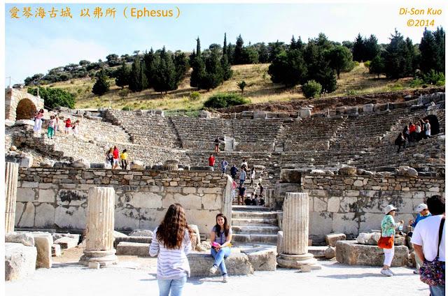 爱琴海古城。(行云提供)