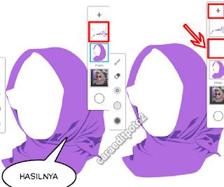 Proses Membuat Skin Hijab