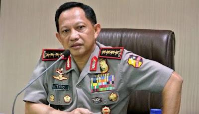 Jenderal Pol Tito Karnavian pensiun dini