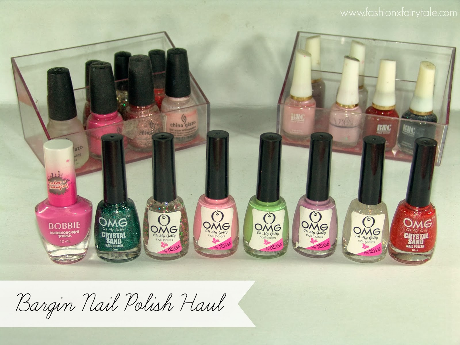Bargain Nail Polish Haul