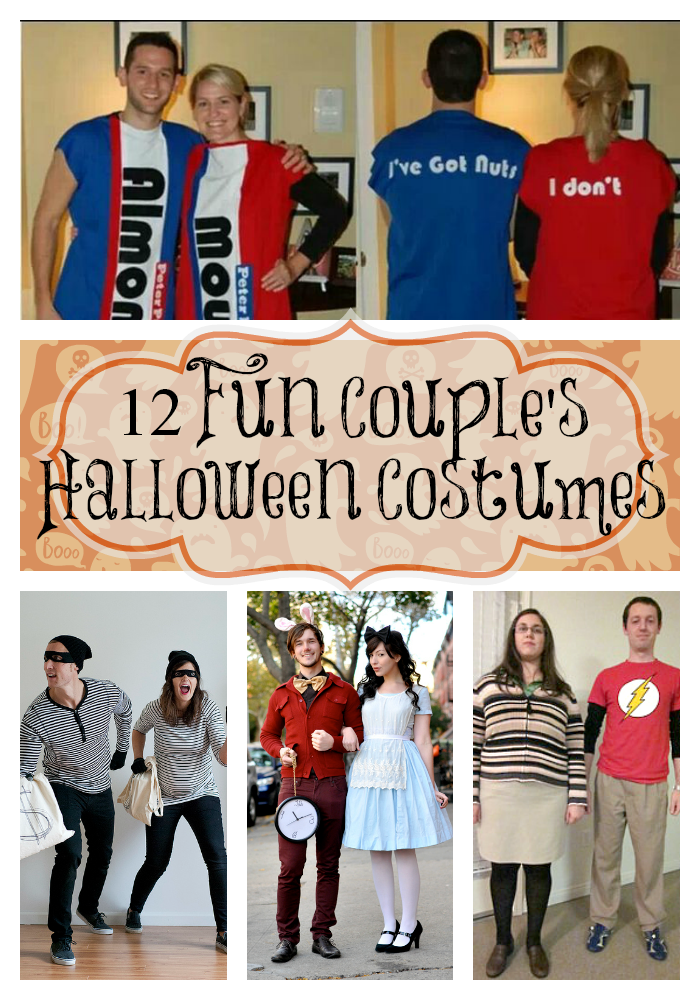 These couples Halloween costume ideas are fun and easy to make! Youu0027ll be  sc 1 st  I Love My Disorganized Life & Couples Halloween Costume Ideas -12 Creative Costume Ideas