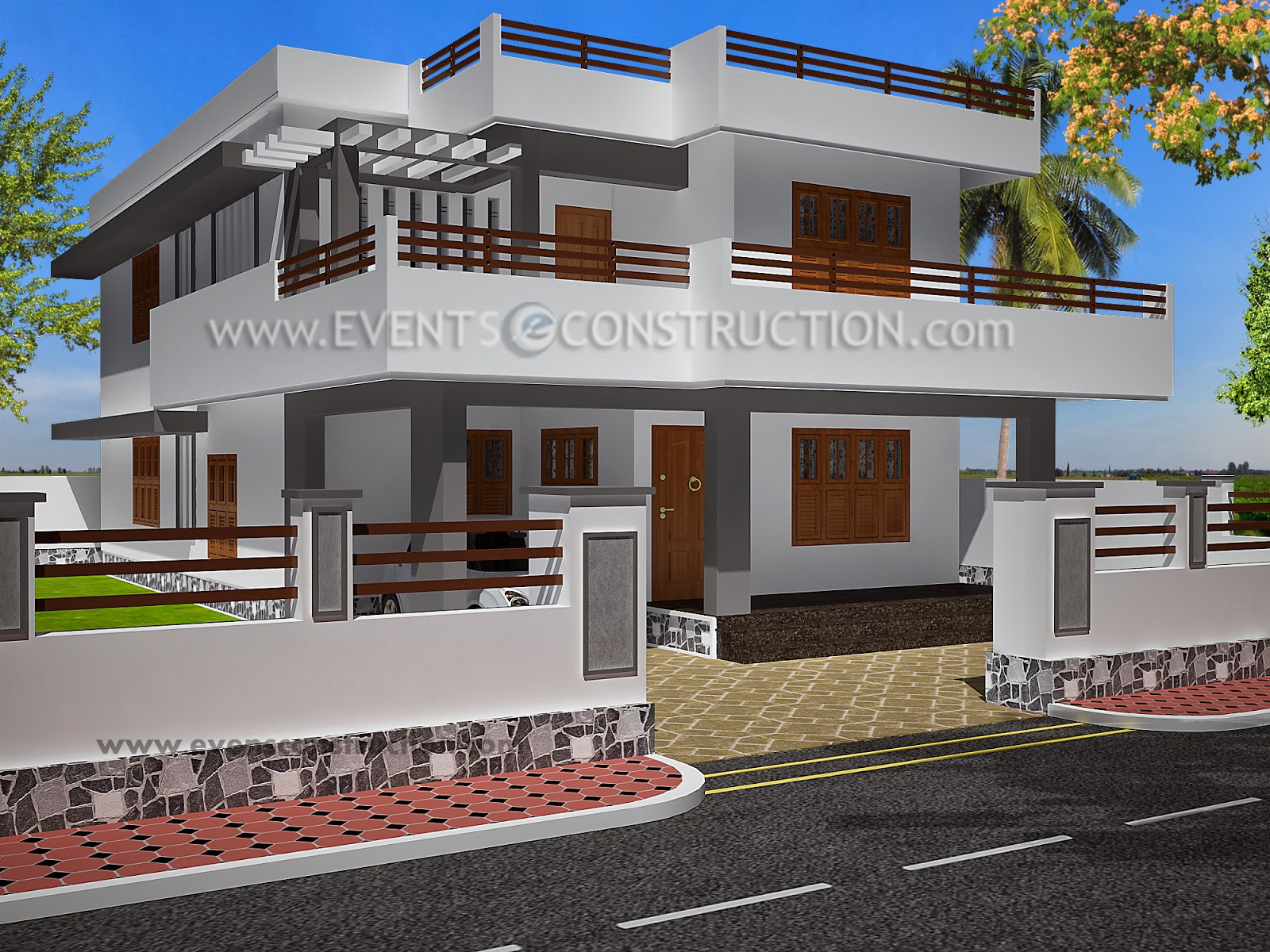 House Compound Designs Pictures: Designs Of Compounds Of Indian Houses