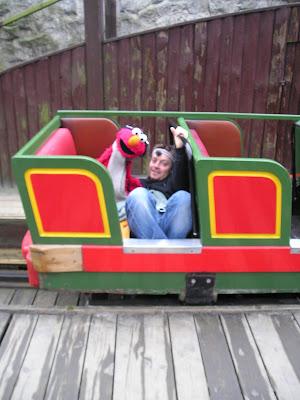 Elmo og Thomas Roos i Tivoli