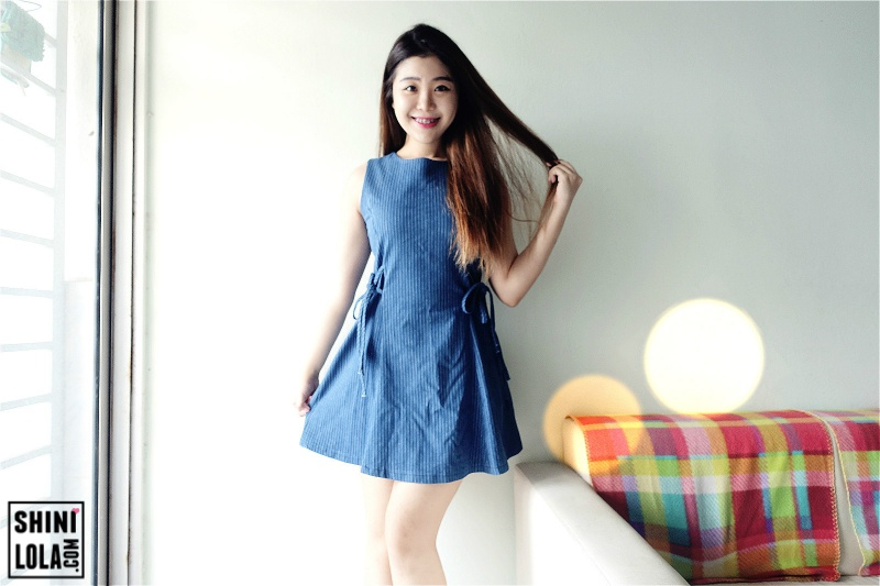 Helena Denim Dress