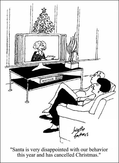 It's About TV: TV Jibe: He knows if you've been bad or good...