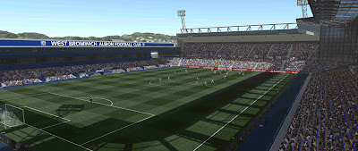 PES 2019 Stadium The Hawthorns by Orsest