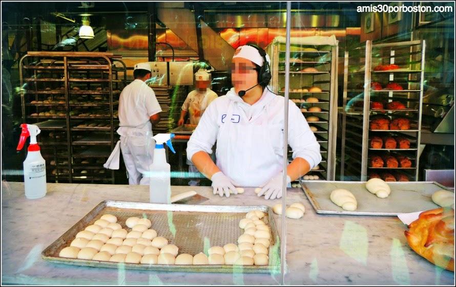 Boudin Bakery: Demostraciones