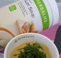 Nutri Soup Herbalife Frango com Legumes