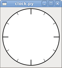 Wherever you are, be there!: Analog Clock in PyGTK