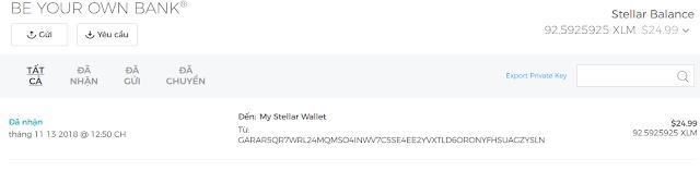 [HOT] Kiếm coin XLM (STR) 25$ từ blockchain.com