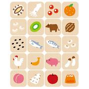いろいろなアレルギー食品のマーク( 特定原材料に準じるもの)