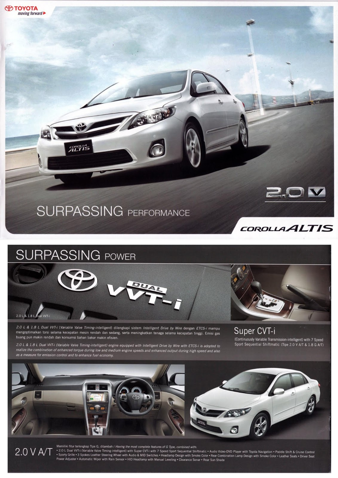 Harga Grand New Avanza Surabaya All Yaris Trd Sportivo 2018 Brosur Toyota Corolla Altis 2013 Promo Dealer