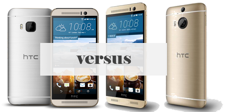 HTC One M9+ versus HTC One M9