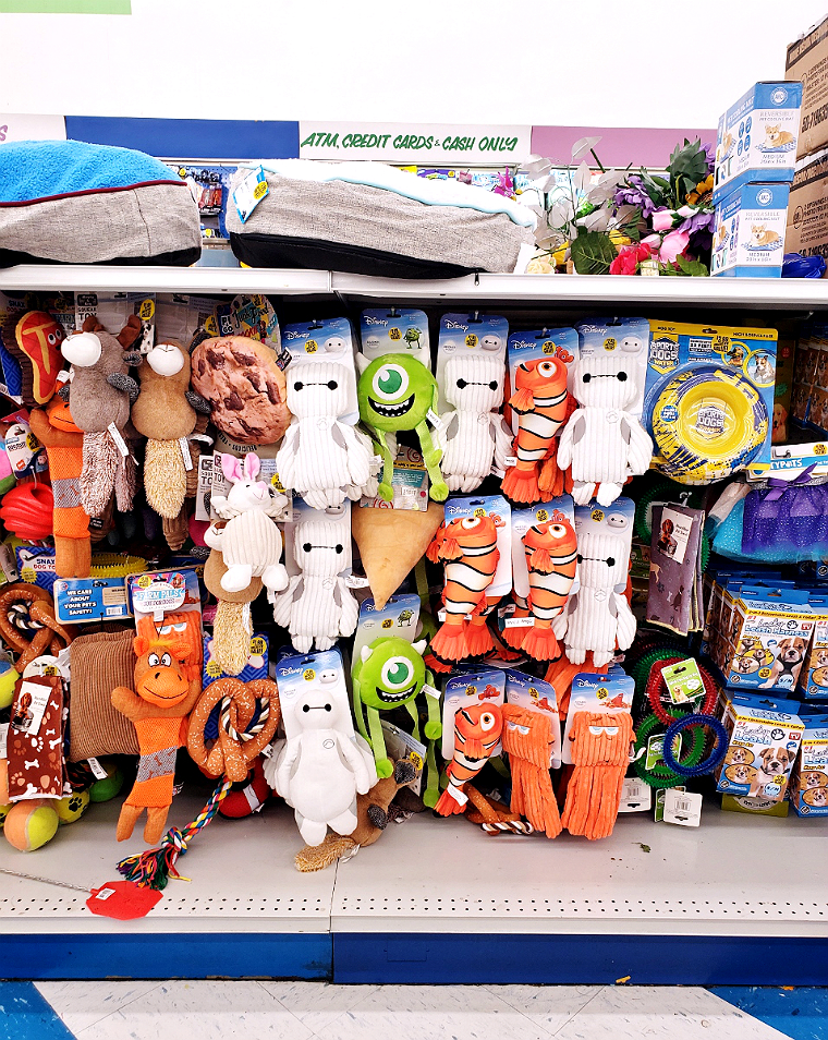 Disney Dog Toys at 99 Cents Only Stores #DoThe99 #99Obsessed #AD