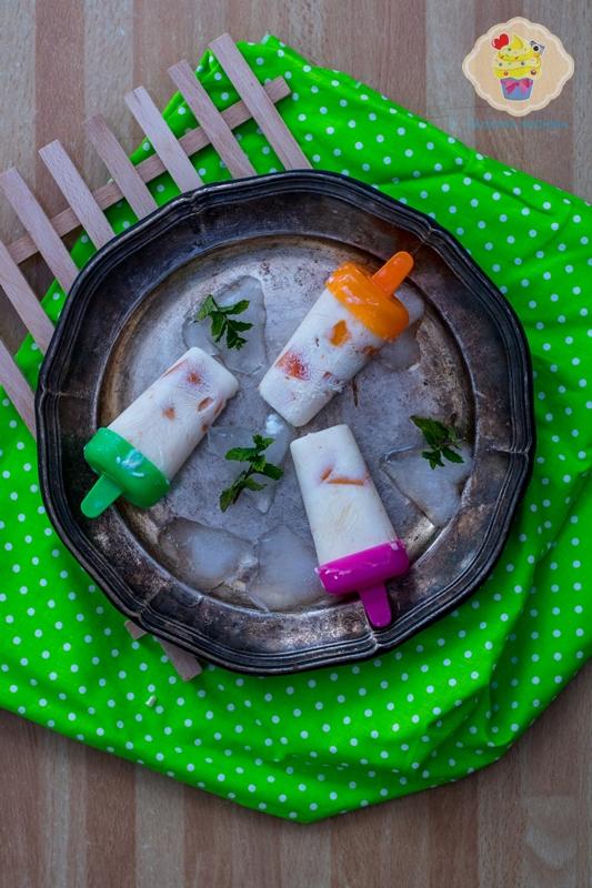 Fit lody jogurtowe z morelami