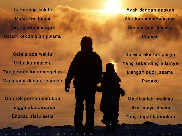 Lirik Ayah oleh Mayada