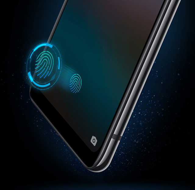 Vivo Nex In display fingerprint scanner