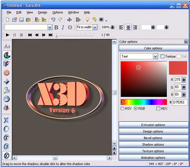 Xara 3d Software