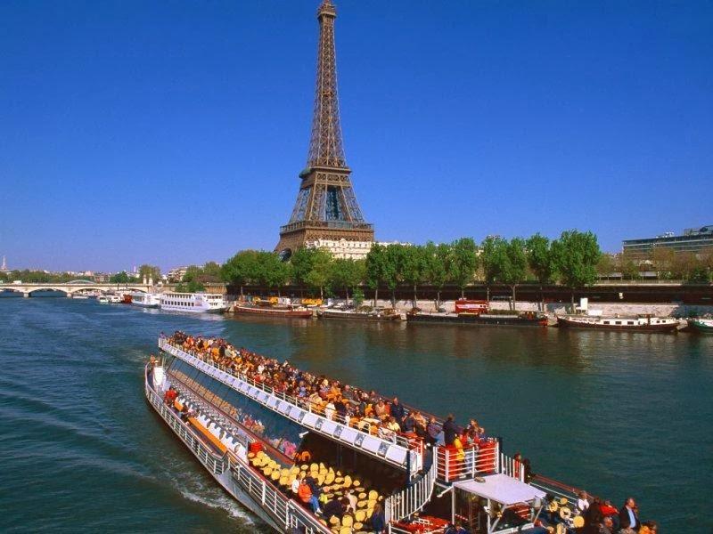 法國塞納河 - 歐洲旅遊景點 / 歐洲觀光景點: 法國塞納河