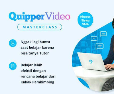 manfaat paket quipper video masterclass