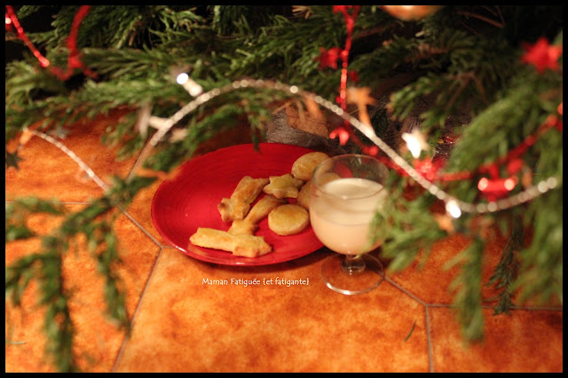 biscuits lait pere noel