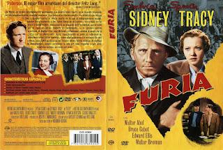 Carátula dvd: Furia (1936) » DescargaCineClasico.Net