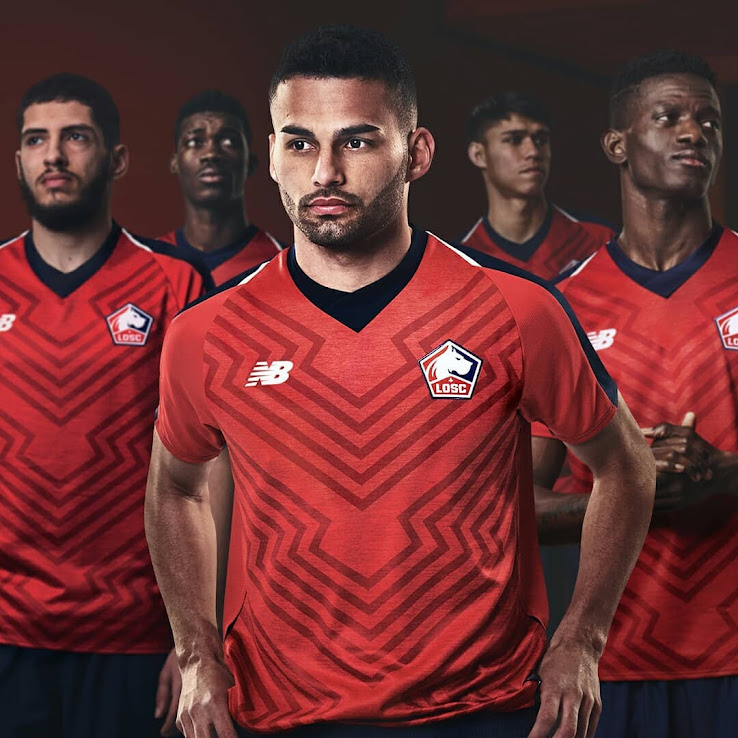 low priced 129fe f8825 NEW Logo: Lille 18-19 Home, Away & Third Kits Released ...