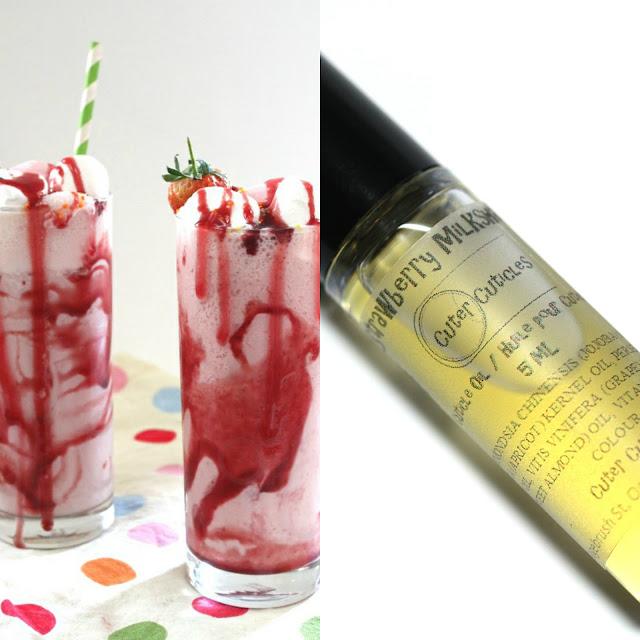 Cuter Cuticle Strawberry Milkshake Cuticle Oil