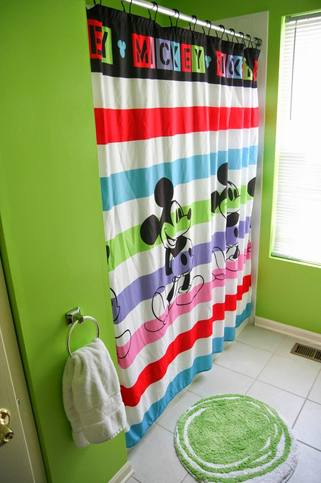 Jeff and Amy Adoption Blog Mickey Mouse Pop Bathroom