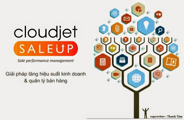 Giải pháp tăng hiệu suất kinh doanh và quản lý bán hàng Saleup www.c10mt.com