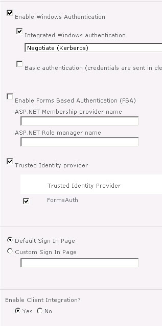 Claims-Based Flexible Authentication in Dynamics AX 2012