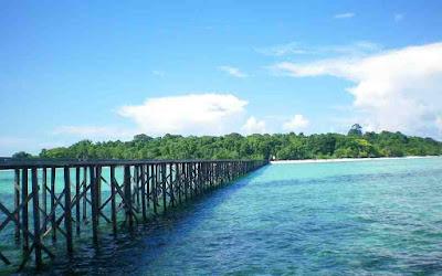 pesona Pulau Sangalaki Kaltim
