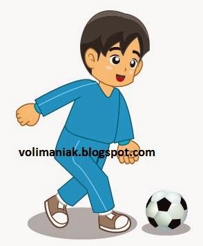 Menendang Bola : menendang, Metode, Pembelajaran, Menendang, Permainan, Sepak